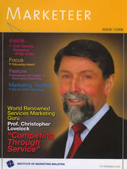 Marketeer issue 1/2008