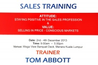 View the album  TM Training By Tom Abbott, 2 - 4 Dec 2013 @ Menara Kuala Lumpur