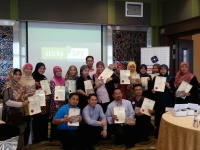 View the album Amazing Sticky Presentations, 25-26 May 2014 @ Menara Kuala Lumpur