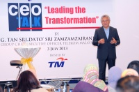 "View the album ceoTALK - ""Leading the Transformation"" by YBhg. Tan Sri Dato' Sri Zamzamzairani Mohd Isa, Group CEO, Telekom Malaysia, 3 July 2013 @ Menara TM, Kuala Lumpur"