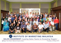 "View the album Sales Leadership: ""Leading Sales Teams to Exceeding Targets"", 28 May 2015 @ Mega View Deck, Menara Kuala Lumpur"