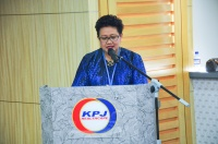 "View the album ceoTALK - ""Sustainability - The Challenges of Leadership"" by YBhg. Tan Sri Siti Sa'diah Sheikh Bakir, Director of KPJ Healthcare Berhad (KPJ) & Chairman and Pro-Chancellor, KPJ Healthcare University College (KPJUC); 9 September 2015 @ Conference Hall, KPJ Healthcare Berhad"