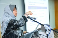 "View the album ceoTALK - ""Sustainability - The Challenges of Leadership"" by YBhg. Tan Sri Siti Sa'diah Sheikh Bakir, Director of KPJ Healthcare Berhad (KPJ) & Chairman and Pro-Chancellor, KPJ Healthcare University College (KPJUC); 9 September 2015 @ Conference Hall, KPJ Healthcare Berhad"