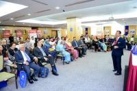 View the album   CEO TALK by YBhg. Dato' Dzulkifli Mahmud, Chief Executive Officer of the Malaysia External Trade Development Corporation (MATRADE), Tuesday, 15 March 2016 @ Perdana Hall, Level 6, West Wing, Menara MATRADE